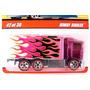 Hiway Hauler Hot Wheels Classics Caminhão Carreta Pneus Borr