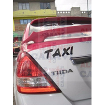 Taxi Tiida Te Vendo Este Aleron Deportivo Modelo Japones