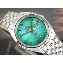 Relógio Orient Automatico Classico Aço Masculino - Usado