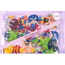 Paletas De Chocolate Avengers