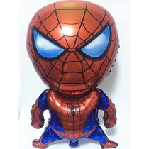 Globos Metalicos Helio Fiesta Spiderman 80*47cm Lote 2 Pza