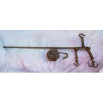 Antiga Balança De Varão - Para Peixeiro E Armazéns 100 Kg