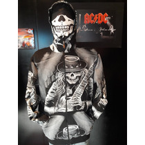 Camperas Calavera - Skull - Esqueleto - Hard Rock - Choppers