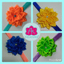 Cintillos De Flores Para Bebes Y Niñas, Colores Fluorescente