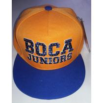 Gorra Plana De Boca Original