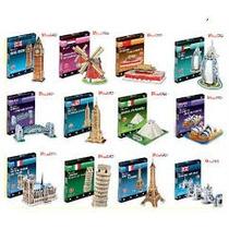 Promoção Quebra Cabeça 3d Puzzle Varios Modelos