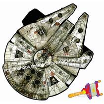 Papalote Halcon Milenario Star Wars 1.27 Mt Rebobinador Hilo