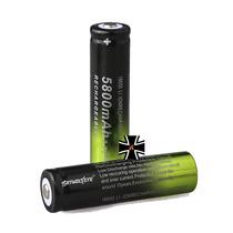 2 Baterias 18650 3.7v 5800mah Lamparas Laser Recargables