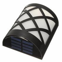 Lámpara Solar Decorativa Para Pared 6 Leds