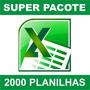 Kit Elite Melhores Planilhas Do Excel No M. Livre