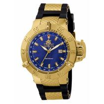 Relógio Invicta Subaqua1150 Dourado Masculino Completo