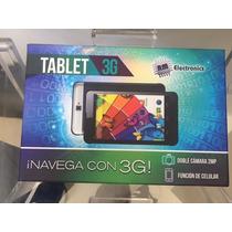 Tablet 3g De 7 Pulgadas Con Celular Y Cámara Doble De 2mp
