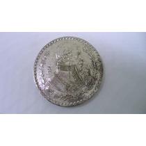 Moeda México De Prata 1 Peso 1966 Estados Unidos Mexicanos