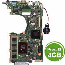 Placa Mãe Notebook Asus X202e Processador I3 4gb (6170)