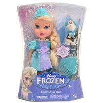 Boneca Elsa E Olaf - Frozen Original Disney