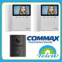 Kit Portero Visor Commax Lcd Led 4 Color Cdv43k + 1 Pantalla