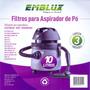 2 Filtro Aspirador De Pó 3un 10l Electrolux -wap- Prosdócimo
