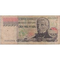 Billete Argentino, 100.000 Pesos Ley 18.188