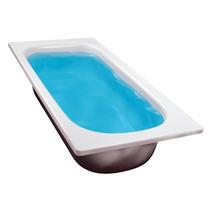 Bañera De Acero Enlozada 1.50 Antideslizante