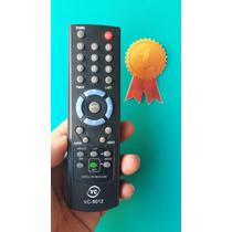 Controle Receptor Visiontec E Hot Sat Vt700-vt1000-vt2000