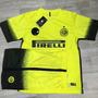 Camisa Inter De Milão Amarelo Com Short