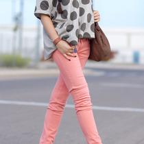 Pantalones Jeans Batik Elastizado Mujer Pantalon Negro Jean