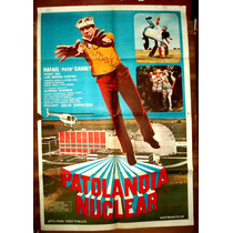 Patolandia Nuclear Pato Carret Afiche Cine Orig 1992 N614