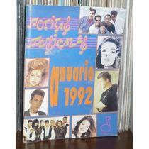 Notitas Musicales Anuario 1992 Thalía Luis Miguel G Trevi