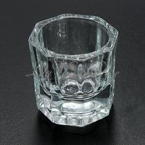 2 Vaso Dappen Vidrio Uñas Esculpidas Accesorios Decora Ydnis