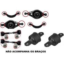 Kit 14 Bucha Suspensão Traseira Facao Bandeja Ford Fusion