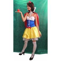 Princesa Fantasia Branca De Neve - Adulto - Festa