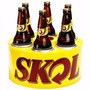 Cooler Térmico 3g Skol Para 6 Long Neck Cerveja Refrigerante