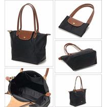 Bolso Cartera Estilo Longchamp Varios Colores (m / L)