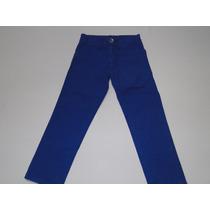 Calça Sarja Azul Infantil Masculina Tam 2 E 4! Nova