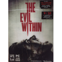 The Evil Withing Pc Dvd Nuevo Con Disco Se Necesita Steam