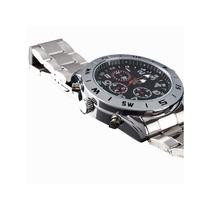 Relógio Espião Filmador 4gb Com Micro Câmera Clássico Ekins
