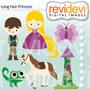 Kit Imprimible Enredados Rapunzel Imagenes Clipart Cod 6