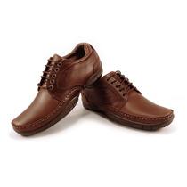 Zapato De Cuero Marsanto Martin Marrón. Store Oficial
