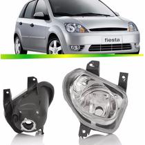 Par Farol Milha Fiesta Hatch Sedan 2003 2004 2005 2006 2007
