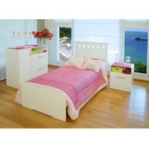Cama Serie 5 De Una Plaza Lustre Blanca 198 X 102 Cm Envios