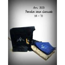 Pantalones Dama Gabardina Elastizada T 56 Al 70 $ 490