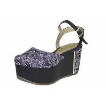 Sandalias Plataformas Altas. Zapatos De Mujer