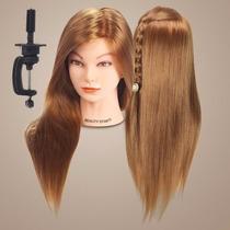 Cabeza Maniqui Para Practicar Peinado Corte Salon De Belleza