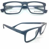 Armação Armani P/ Óculos Grau Masculina Feminina Com Brinde