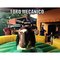 Alquiler Inflables Toro Mecanico Discomovil Comida Rapida