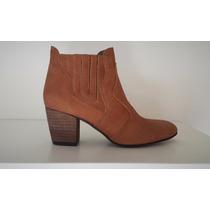 Botas Botita Botineta Texanas Elastico Cuero Diafana Zapatos