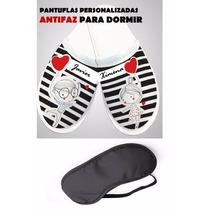 Pantuflas Personalizadas Kit Bodas Xv Graduacion