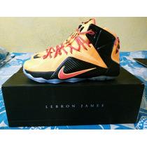 Botas Nike Lebron James Xii 100% Originales