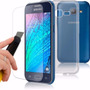 Capinha Capa Samsung Galaxy J1 Ace Duos + Pelicula Vidro