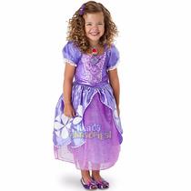 Disfraz Vestido Princesa Sofia Original Disney Store 2016